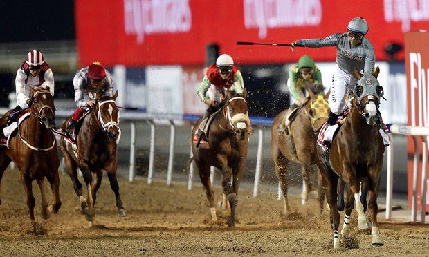 Πλουσιότερος ίππος στην ιστορία ο California Chrome μετά την κατάκτηση του Dubai World Cup (video)
