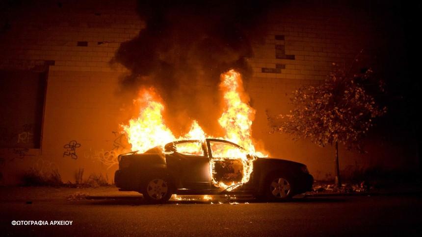 Στις φλόγες το αυτοκίνητο του Παναγιώτη Δημητσάνη στην Κύπρο