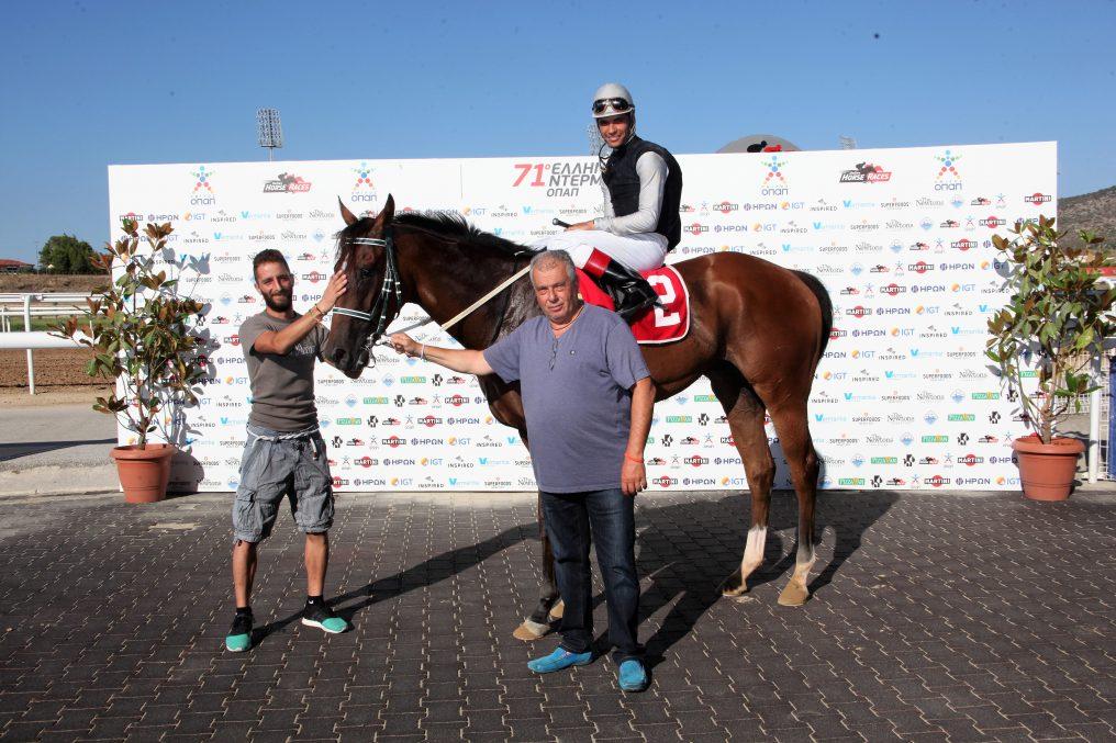 Αποτελέσματα, επιδόσεις, φώτο φίνις ελληνικών ιπποδρομιών Παρασκευής 28 Ιουλίου 2017 και δελτίο Ελλανοδικών (Νο 209 -215)