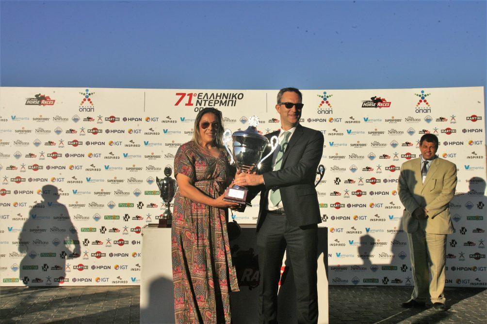 Η Ειρήνη Κεράτσα είναι η πρώτη γυναίκα προπονήτρια που κατακτά το Ντέρμπι