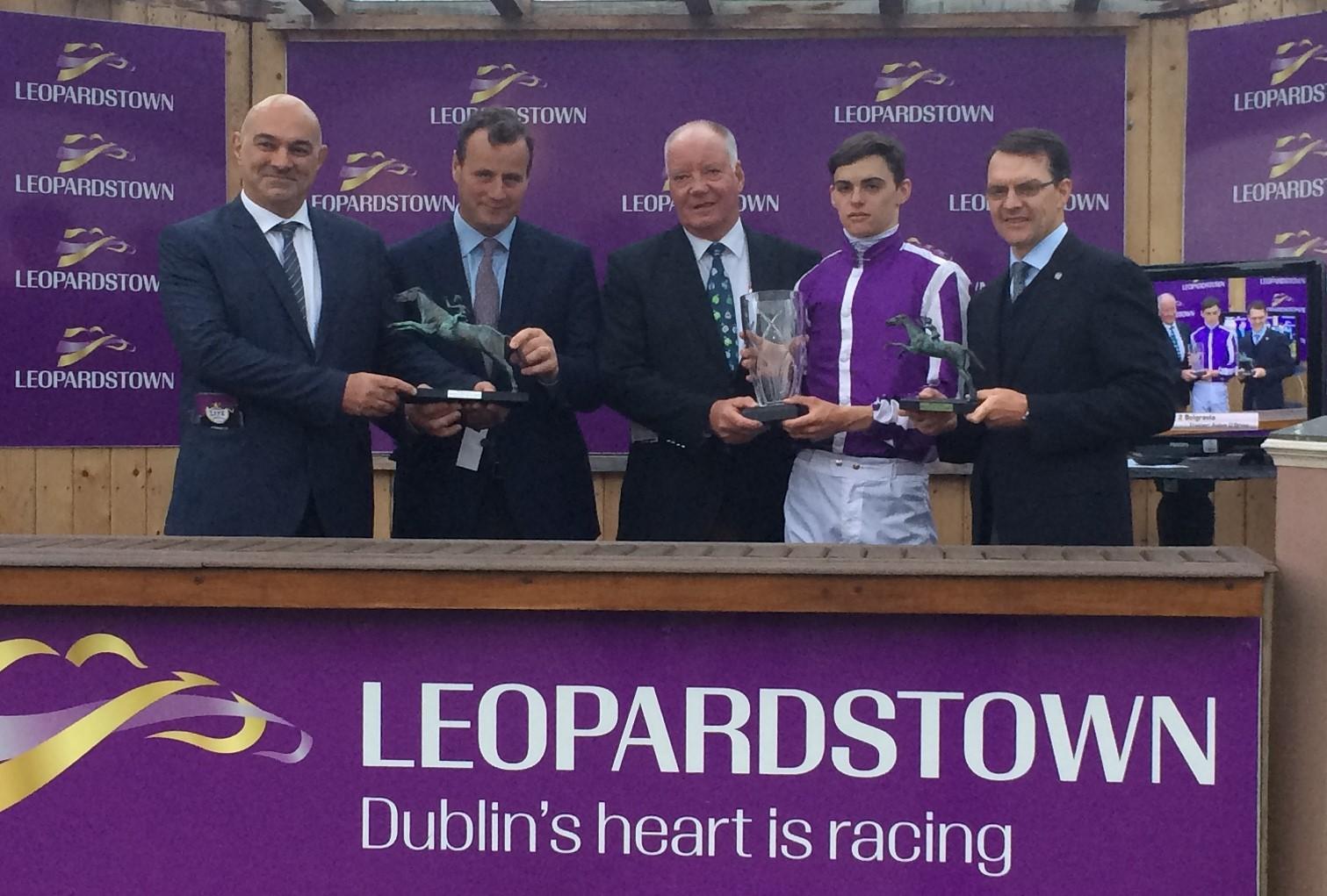 Η Ιπποδρομίες ΑΕ τιμήθηκαν στο διεθνές ιπποδρομιακό φεστιβάλ του Leopardstown στο Δουβλίνο