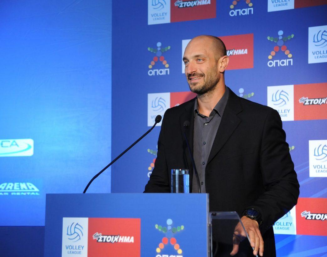 Ο ΟΠΑΠ κεντρικός χορηγός πρωταθλήματος και ονοματοδοσίας της Volley League