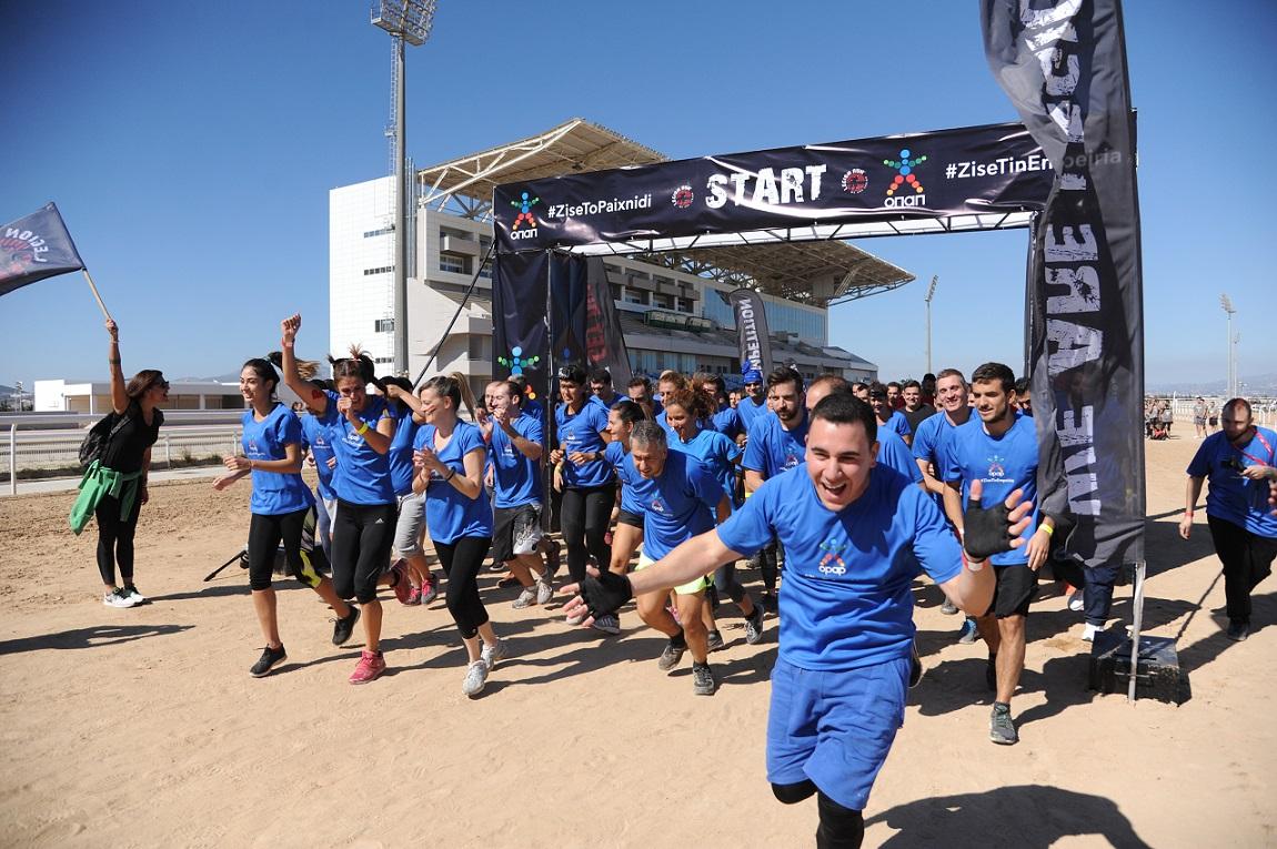 Απόβαση από 2.500 «Λεγεωνάριους» του «Legion Run Athens 2017» στον Ιππόδρομο Αθηνών στο Μαρκόπουλο(φωτό & βίντεο)