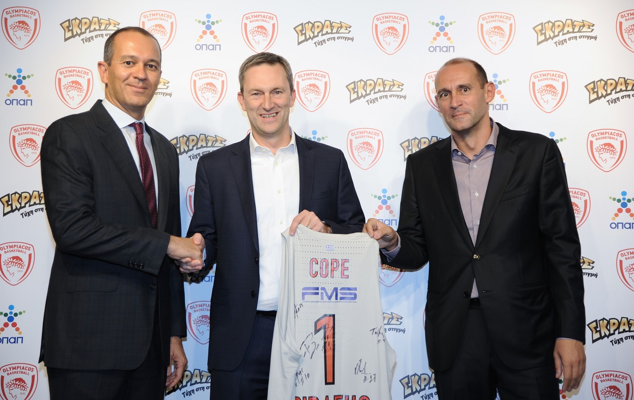 Όμιλος ΟΠΑΠ και ΚΑΕ Ολυμπιακός μαζί στην αγωνιστική περίοδο 2017-18