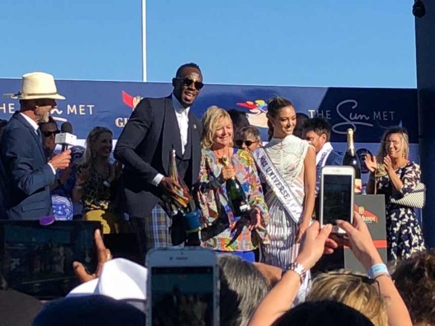 Ο Usain Bolt των χορηγών και της διαφήμισης ξενέρωσε το πλήθος στην φιέστα του 134ου Sun Met